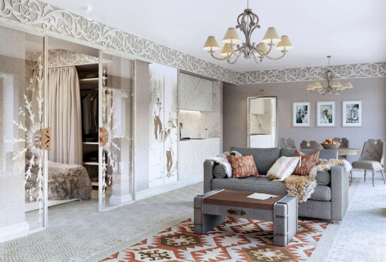 Aries Residence Bukowina_salon